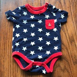 Baby gap stars onesie